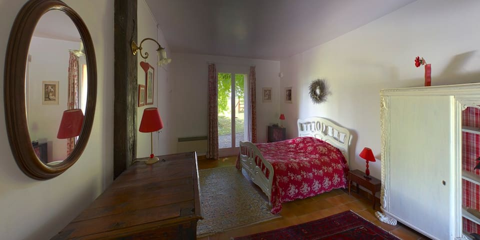 Chambres doubles - La Couture-Boussey - Bed & Breakfast