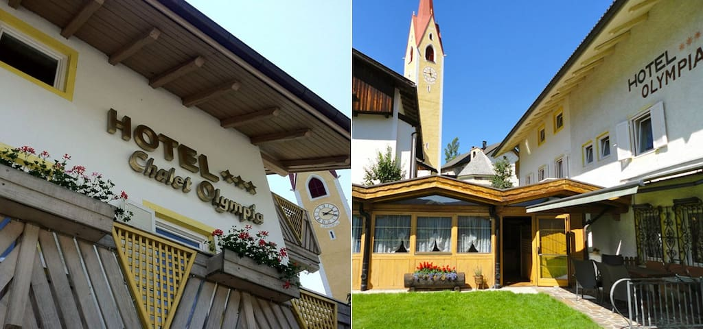 Benvenuti All´Hotel Chalet Olympia - Tesido - Bed & Breakfast