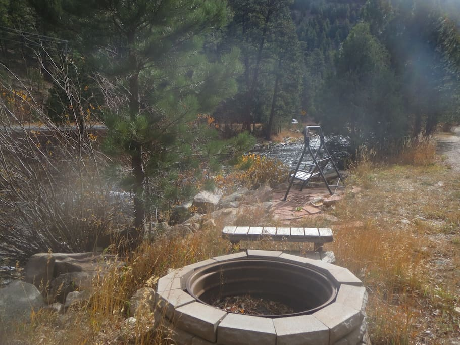 Located on the Big Thompson River