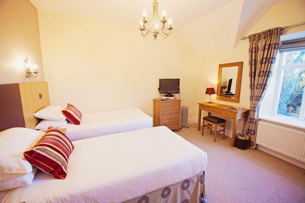 Bodelwyddan Suite one of our Classic Rooms - can be Double or Twin Beds