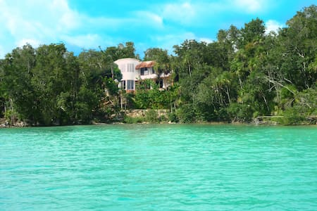 Mayacala Lake Front Jungle Jewel   - Bacalar