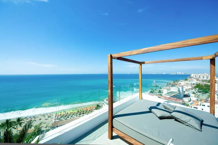 CONDO WITH OCEAN VIEW ROMANTIC ZONE - Puerto Vallarta - Apartment