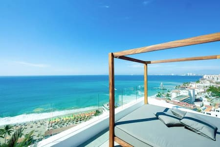 CONDO WITH OCEAN VIEW ROMANTIC ZONE - Puerto Vallarta