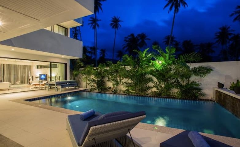 3 Bedroom Luxury Ban Tai villa near beach - Ko Samui - Lägenhet