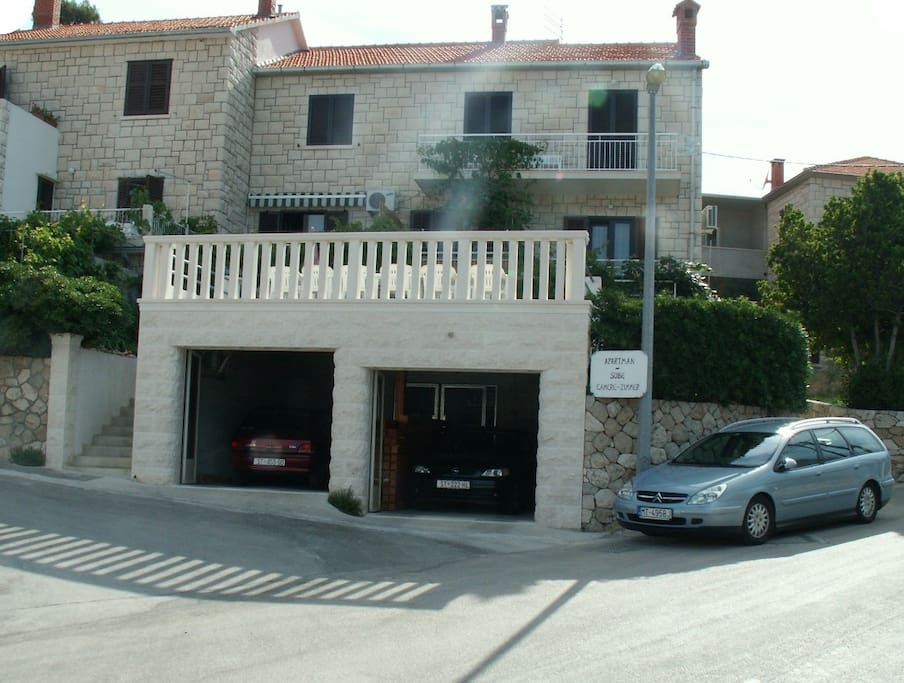 Private garage on request