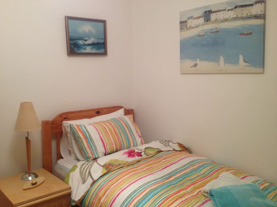 Bright Well Furnished Bedroom with 100% Cotton Bedding