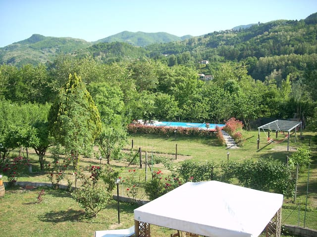 Nature and relax with swimming pool - Fornaci di Barga - Hus