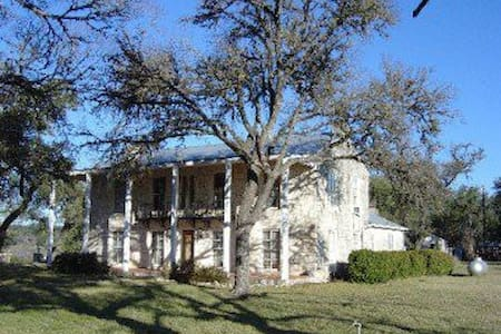Historic TX Hill Country Ranch Home - Spring Branch - House - 1
