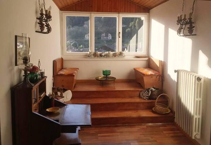 Deliziosa mansarda in Trentino vicina al lago