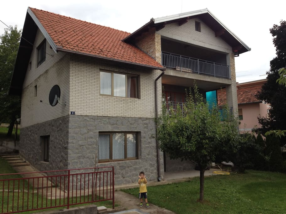 3 Level home with 3 separate self contained apartments with secure access and balconies and parking