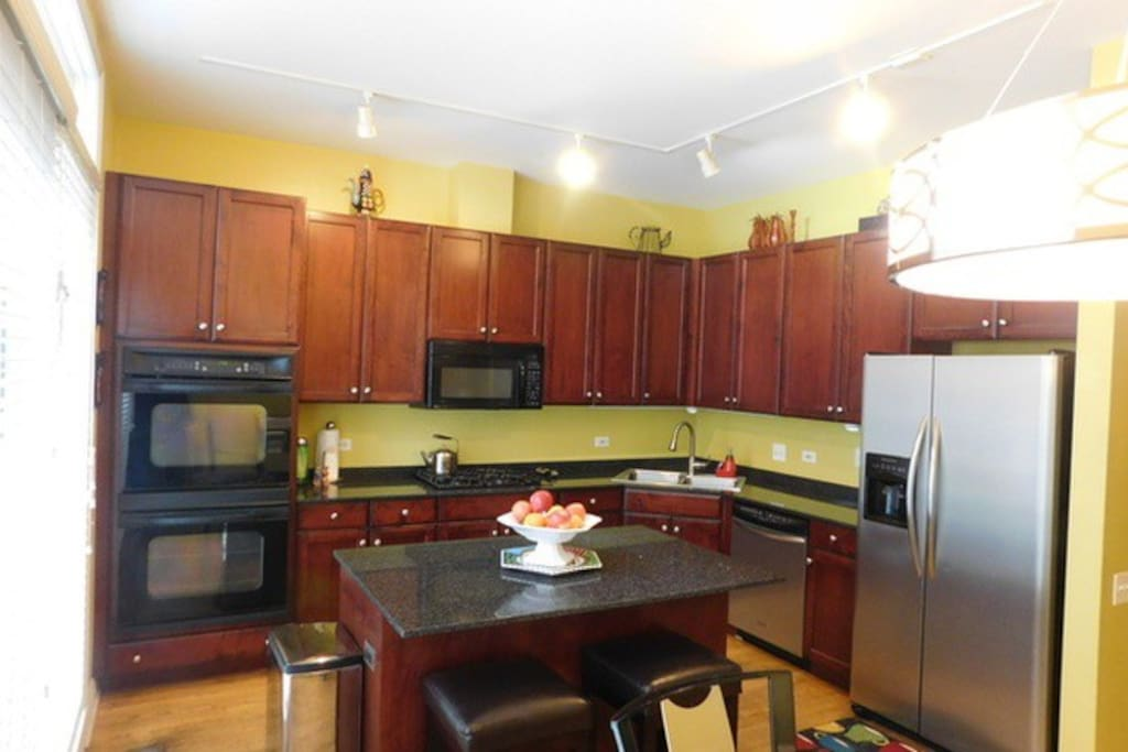 Great kitchen!  Has dining room table and has been remodeled with fresh colors