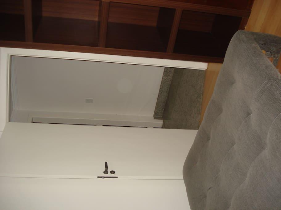 Outra vista do quarto
