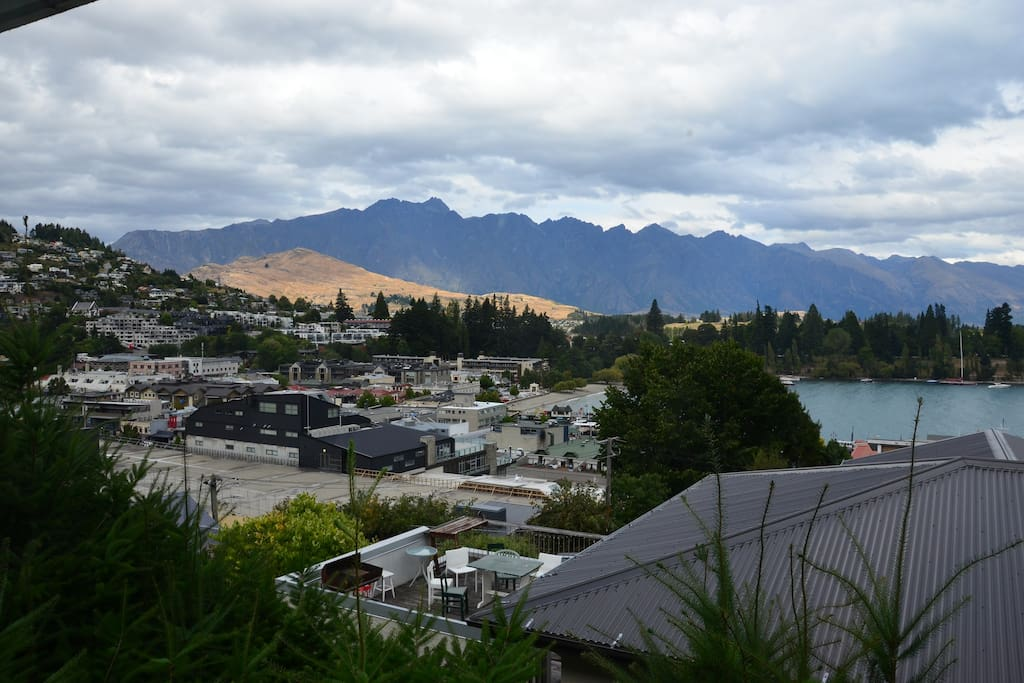 Amazing views of The Remarkables and Queenstown