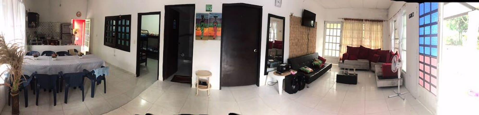 Casa campestre villa samara