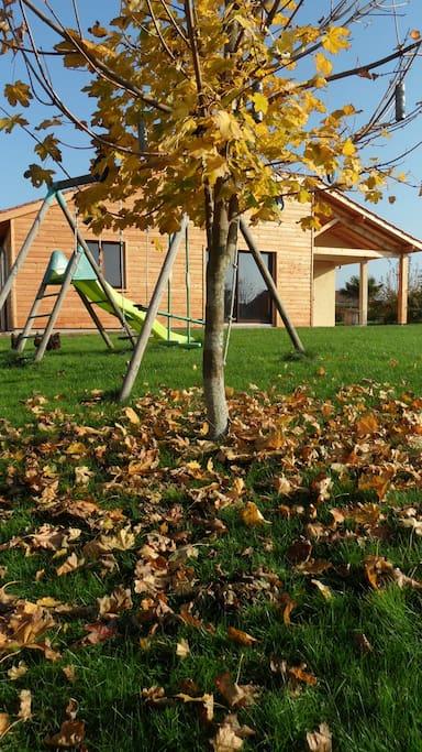 vue d'automne côté ouest