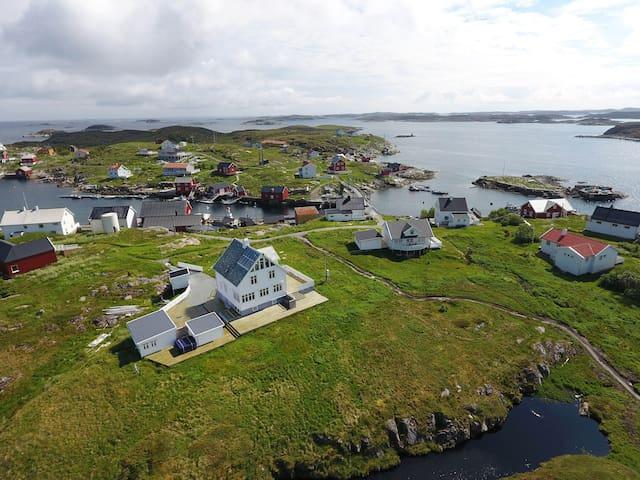Hytte på Bogøya m/båt, døgnpris for 4 pers +.
