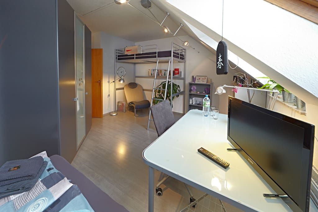 mini loft in periphery of nuremberg case in affitto a. Black Bedroom Furniture Sets. Home Design Ideas
