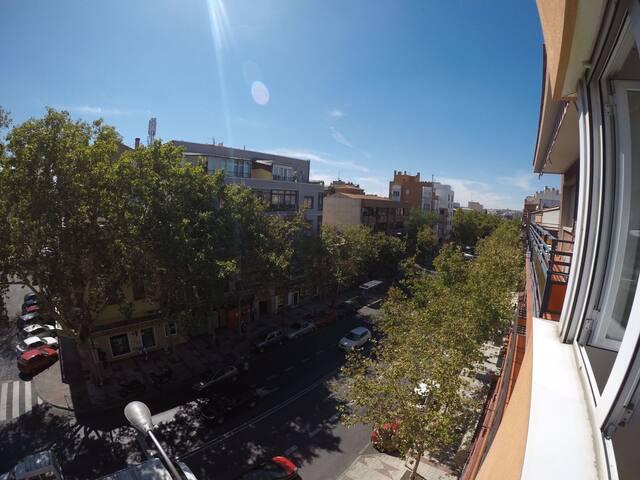 Habitación individual Alcalá, Madrid capital.