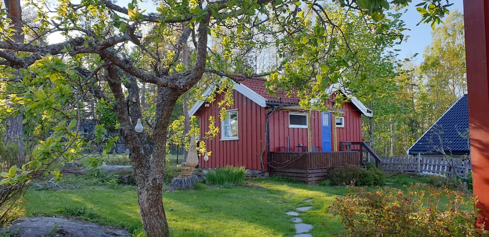 Cozy cabin with bathroom and kitchenette + wifi