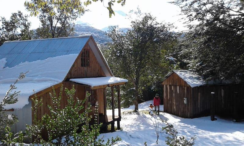 Cabaña de Magdalena Pavez y Alvaro Giannini
