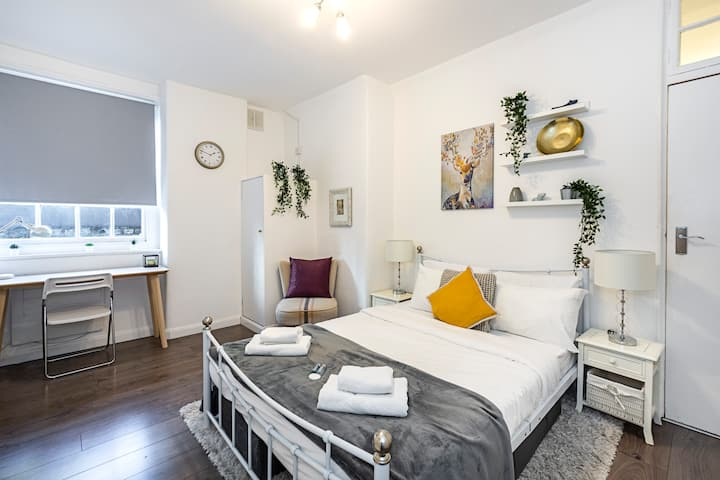 Work From Trendy 1 Bed Apartment Near King's Cross