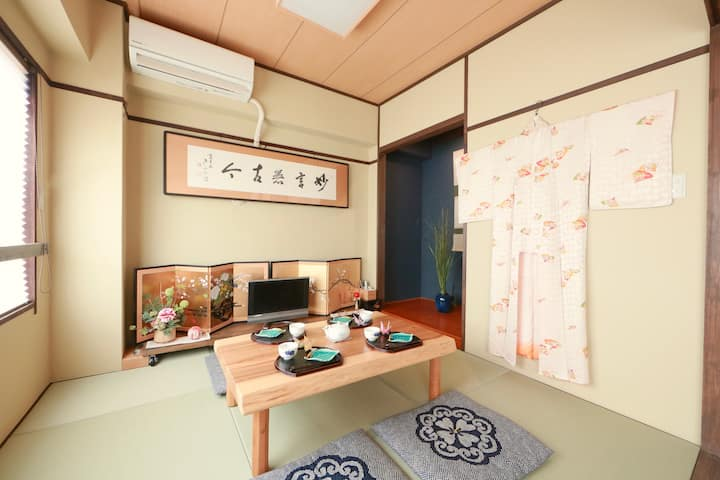 6min Kobe Sta! Traditionl Japanese interior design