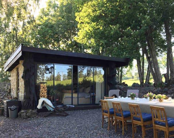 Steinhytta på Kastad Gård