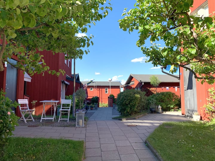 Charming terrace house in central Vaxholm