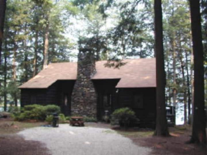 large cottage on private lake