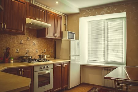 1 room apartment with 2 beds. Perfect location - Mykolaiv - Apartemen