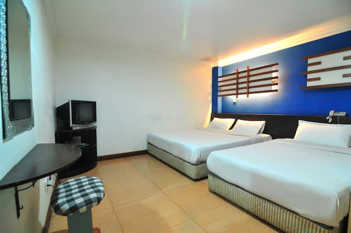 Triple private room at Kuala Lumpur city center