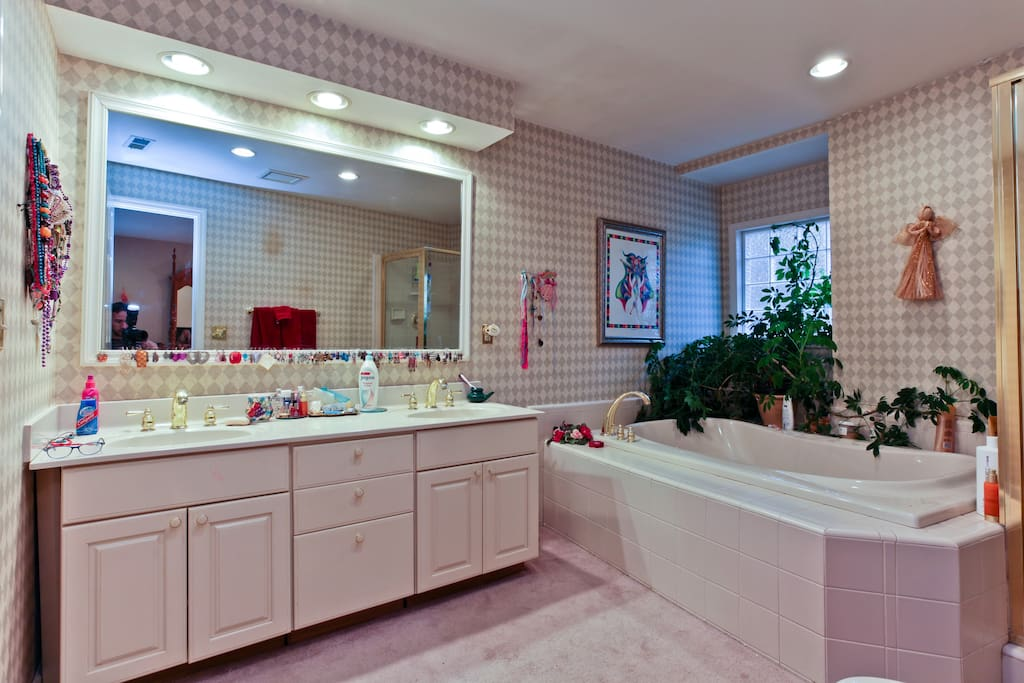 super sweet studio apartment - Jacuzzi tub and shower! huge bathroom