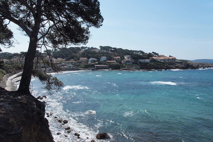 Studio in Sanary, a stone's throw from the sea - Sanary-sur-Mer - Rumah bandar