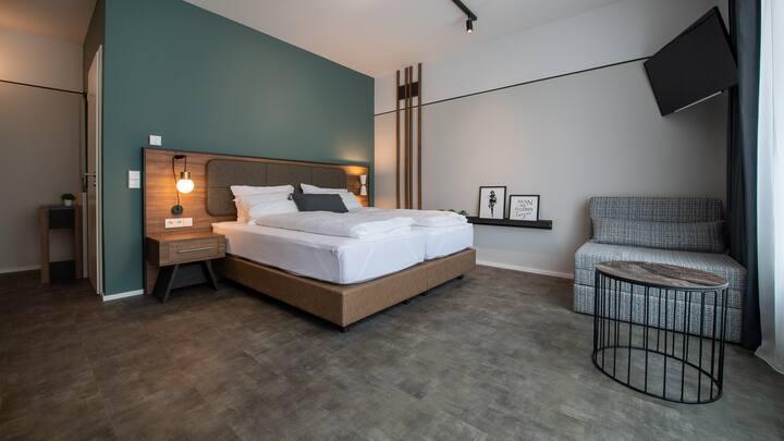 Metropol Apartment Deluxe Doppelzimmer