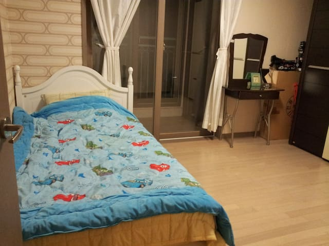 ^♡^~가정집의 편안함이 컨셉인 숙소~^^ 북한산 인접한 아파트.3호선 구파발역 도보5분~