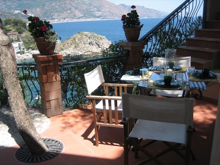 Taormina by the sea