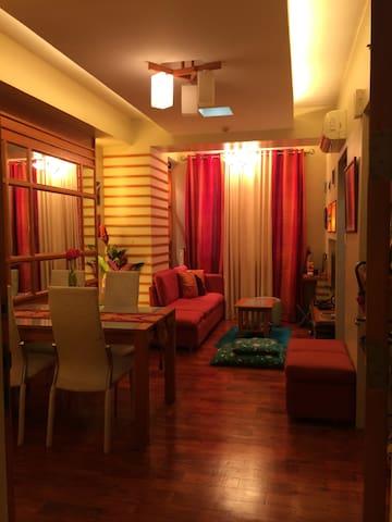 Cozy and Romantic Space in the City Centre! - Ciutat Quezon - Apartament