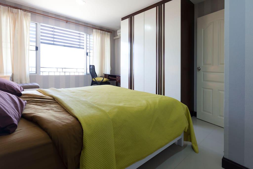 big wide bed