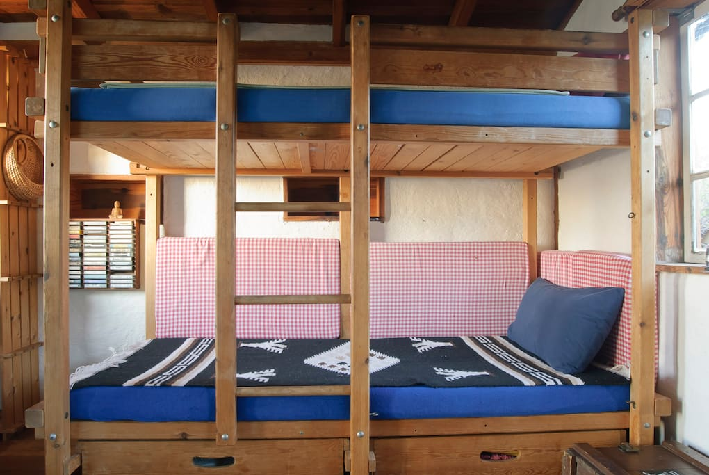 Ein Gullibo-Etagenbett