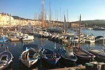 le port de St Tropez