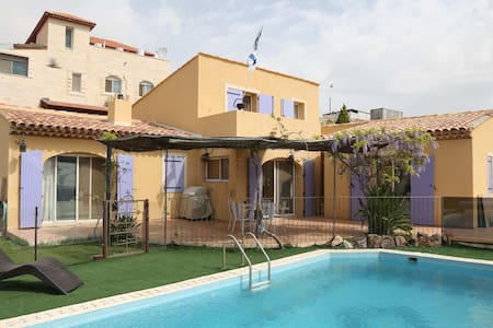 villa  avec piscine pres de Jerusal - Kfar Adumim - Willa