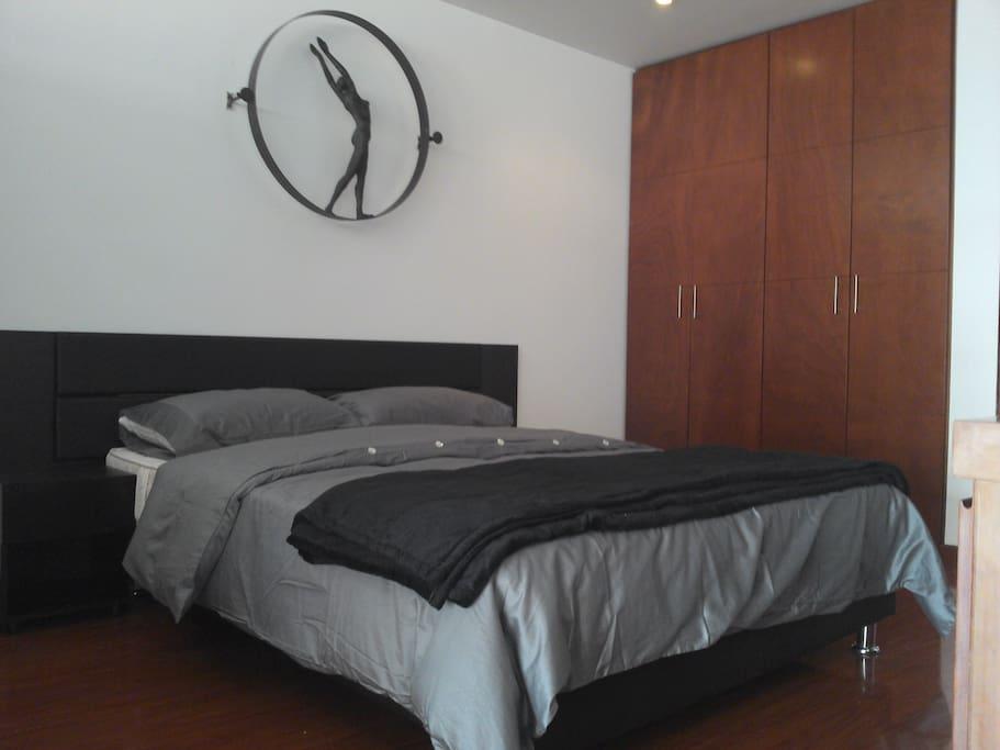 Habitacion principal cama doble