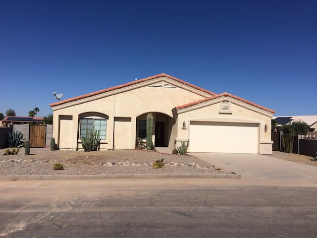 Great Arizona City Lake Front Location!