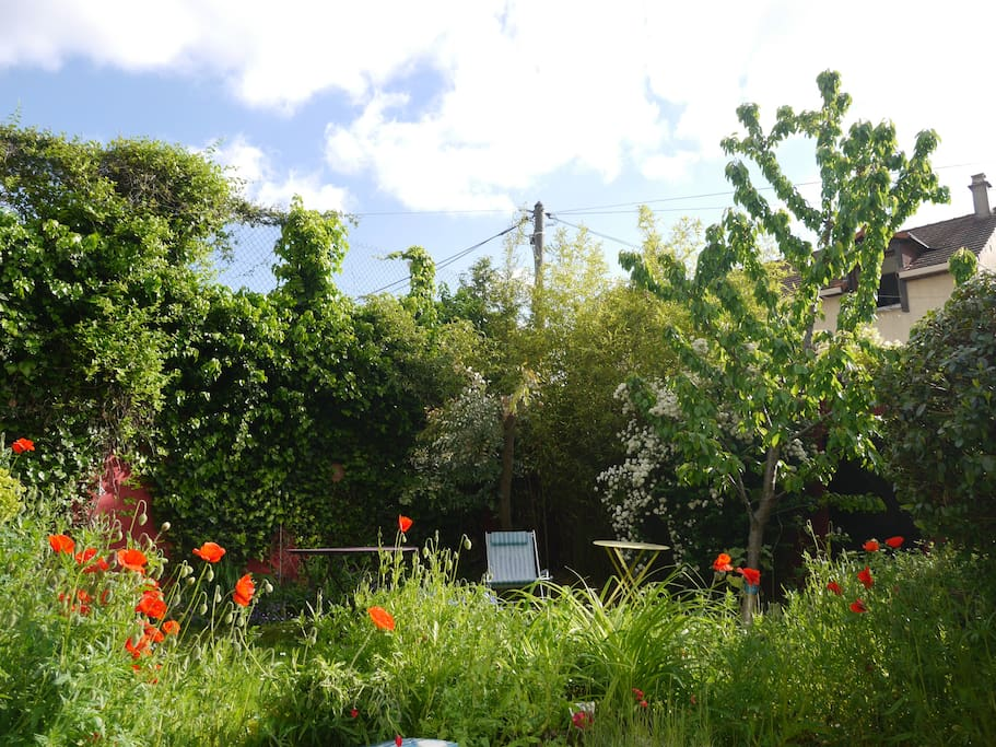 jardin tranquille sans vis à vis