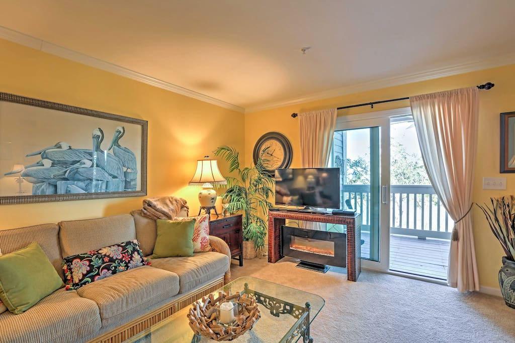 Come home to unwind in the terrific living room.