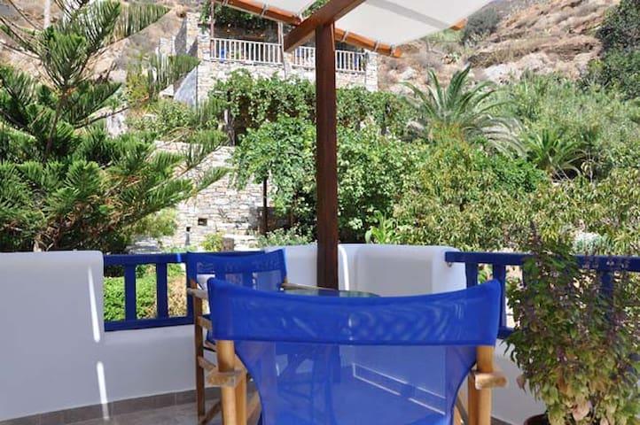 Apartment on Levrossos beach  - Amorgós - Appartement