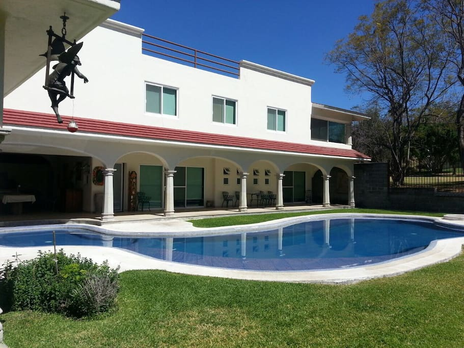 4 club de golf santa fe cuernavaca villas for rent in for Jardin villa serrano cuernavaca