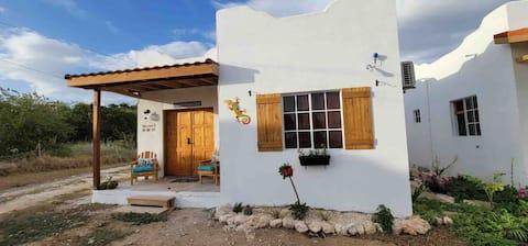 Private 2 bedroom casitas with pool. Azteca villas