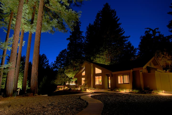 Luxury Compound in the Redwoods [Hot Tub+Fire Pit] - Cazadero - Alojamiento vacacional