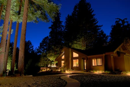 Luxury Compound in the Redwoods with Spa - Cazadero